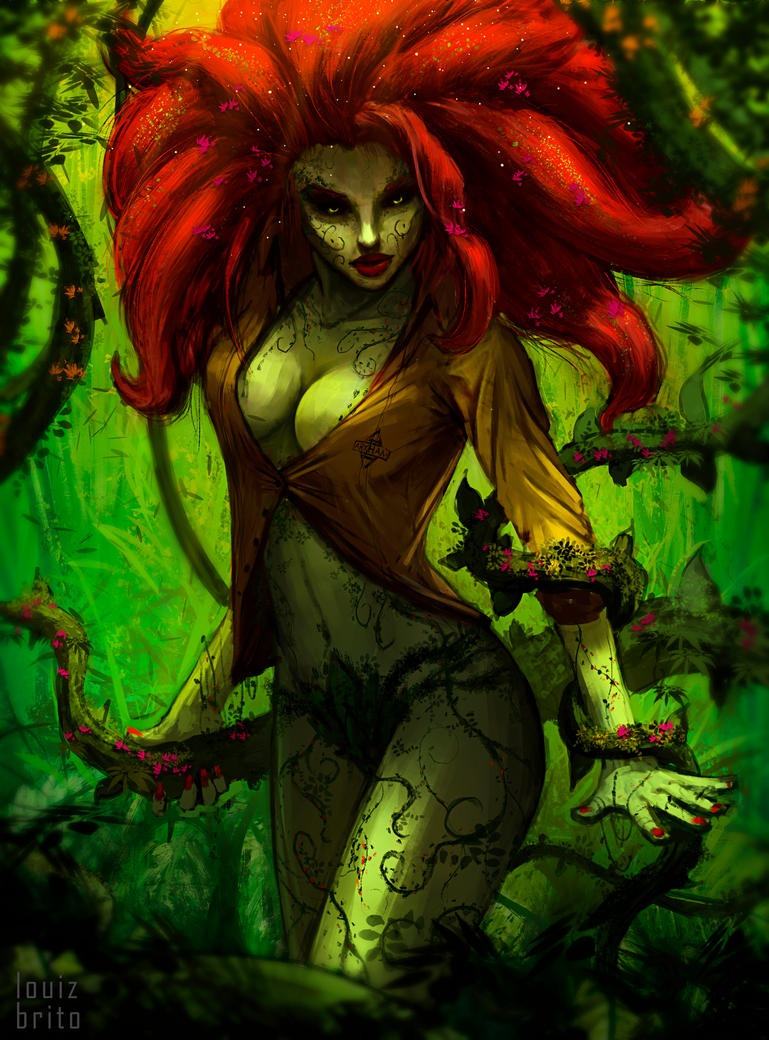 Poison Ivy sketch by LouizBrito