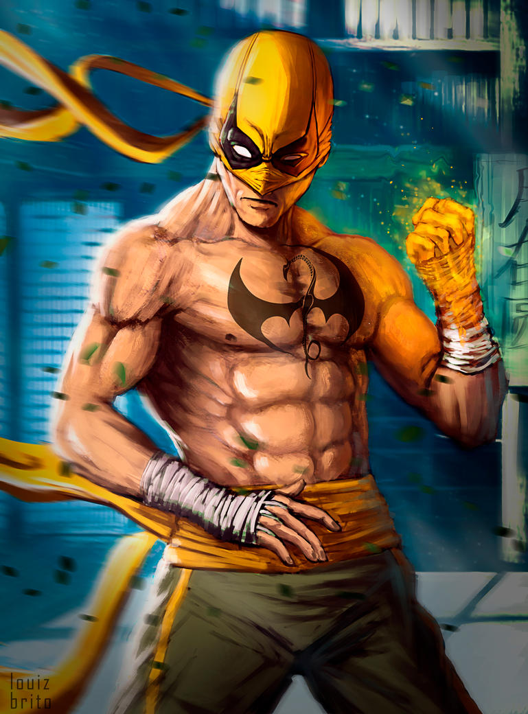 Iron Fist sketch by LouizBrito
