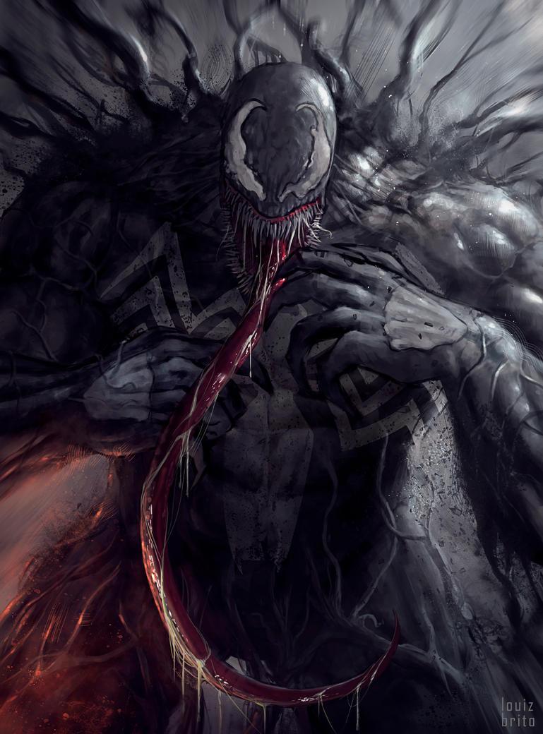 Venom sketch by LouizBrito
