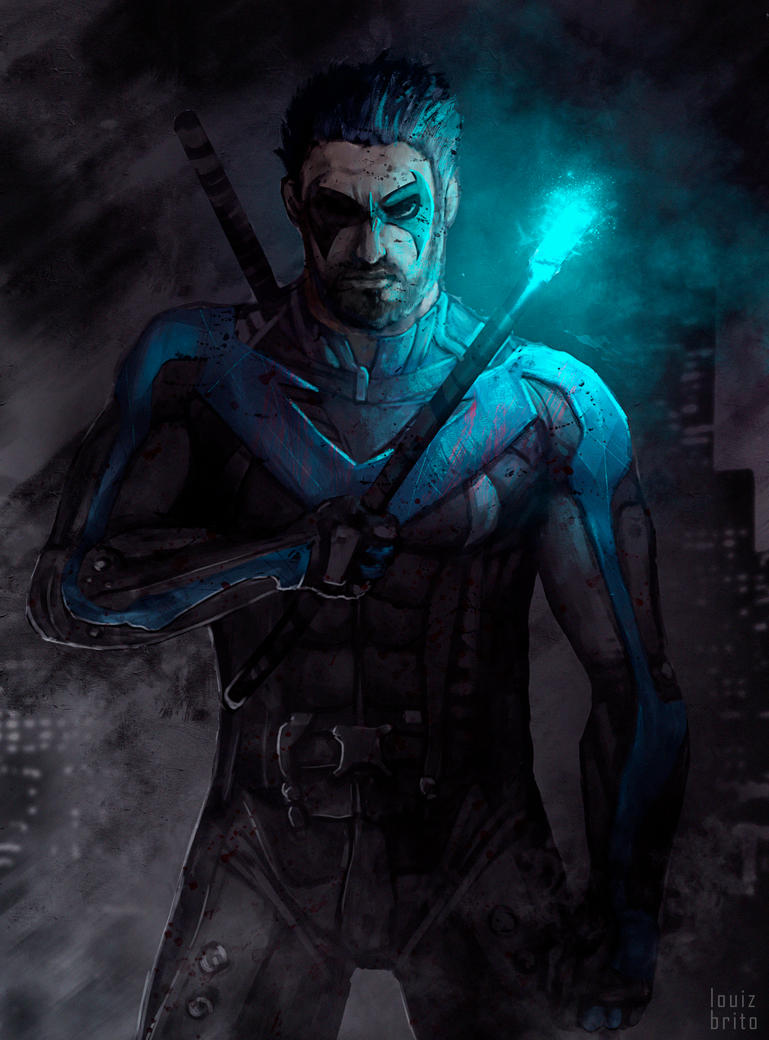 Nightwing by LouizBrito
