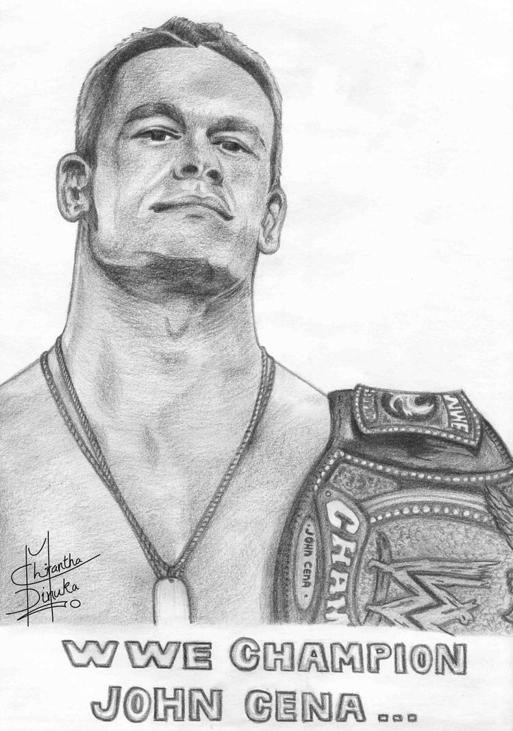 How To Draw Wwe Figures