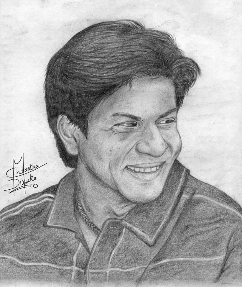 Shah rukh khan drawing by chirantha on deviantart