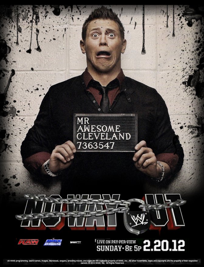 WWE No Way Out 2012 Poster by Chirantha