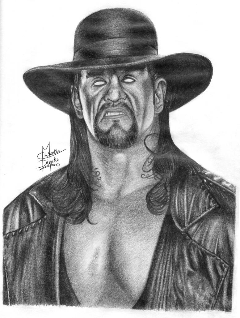 Scribble Pencil Drawings : The undertaker pencil drawing by chirantha on deviantart