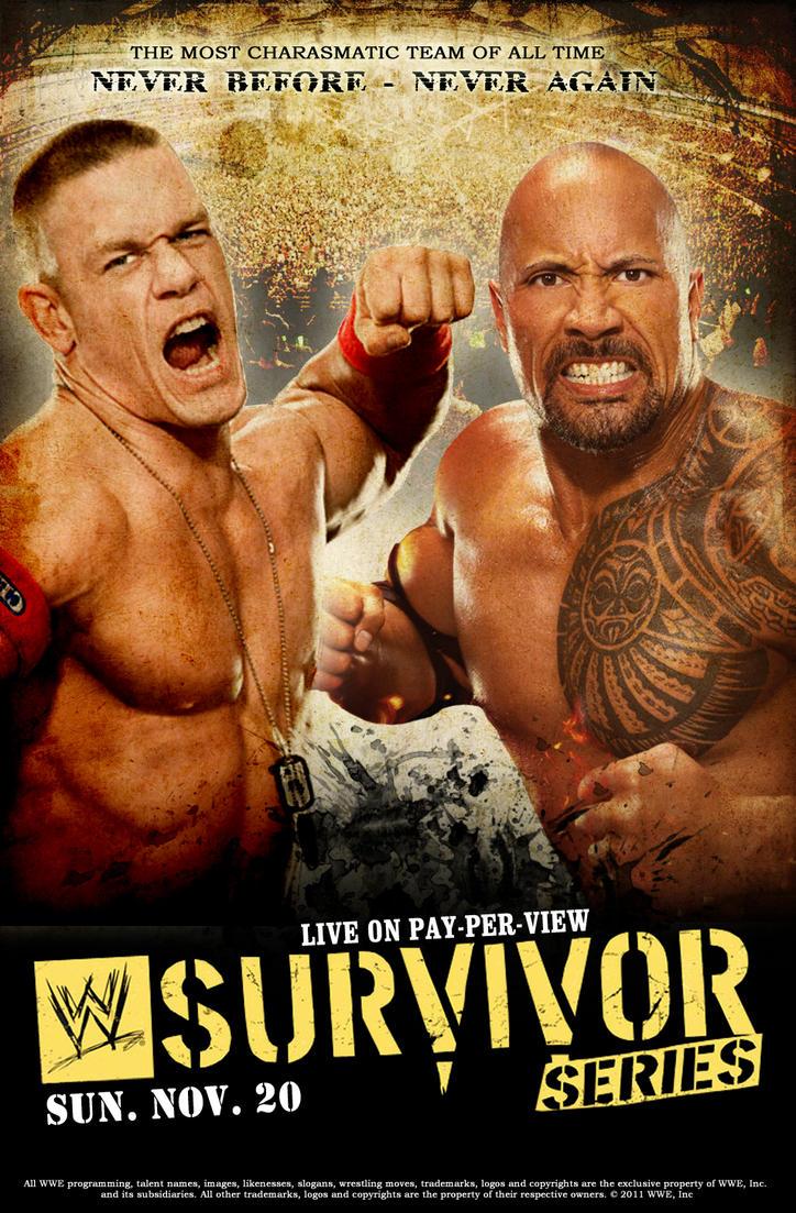 Survivor Series 2011 Poster by Chirantha
