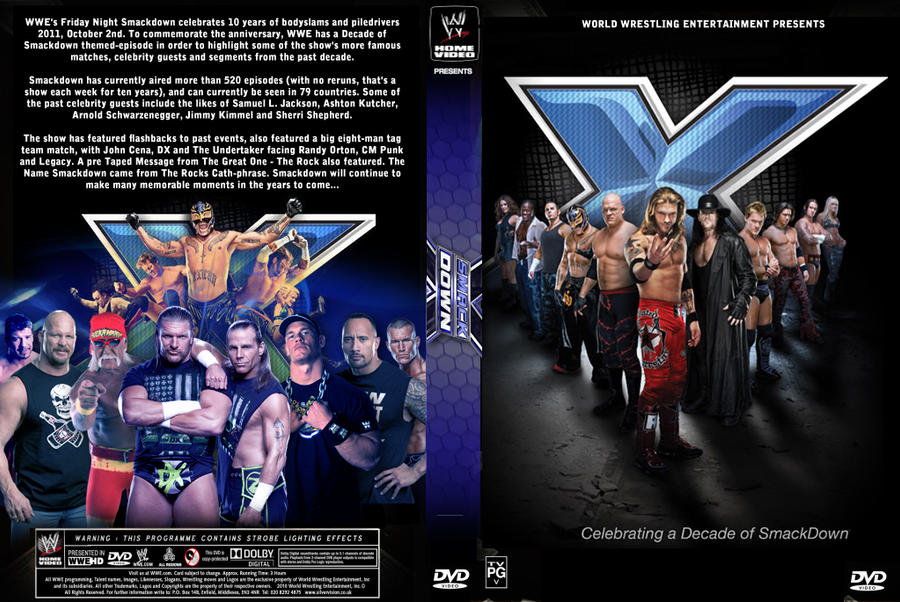 Decade Of Smackdown DVD Cover By Chirantha On DeviantArt