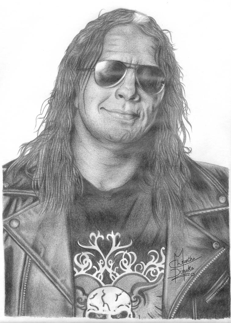bret hart coloring pages - photo#36