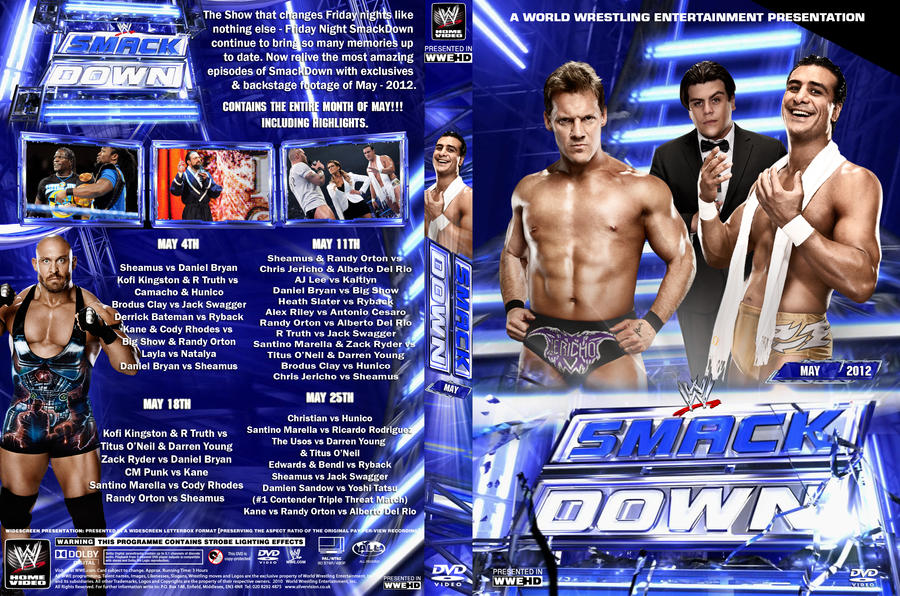WWE Smackdown May 2012 DVD Cover By Chirantha On DeviantArt