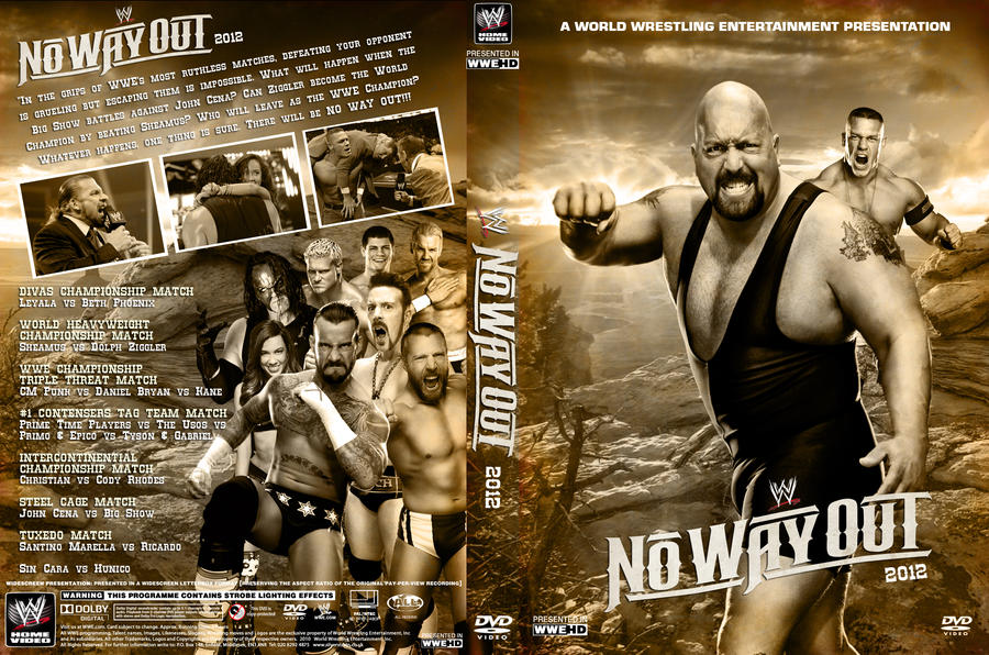 Image result for no way out 2012 poster