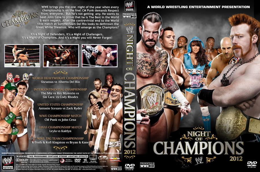 Image result for night of champions 2012 poster
