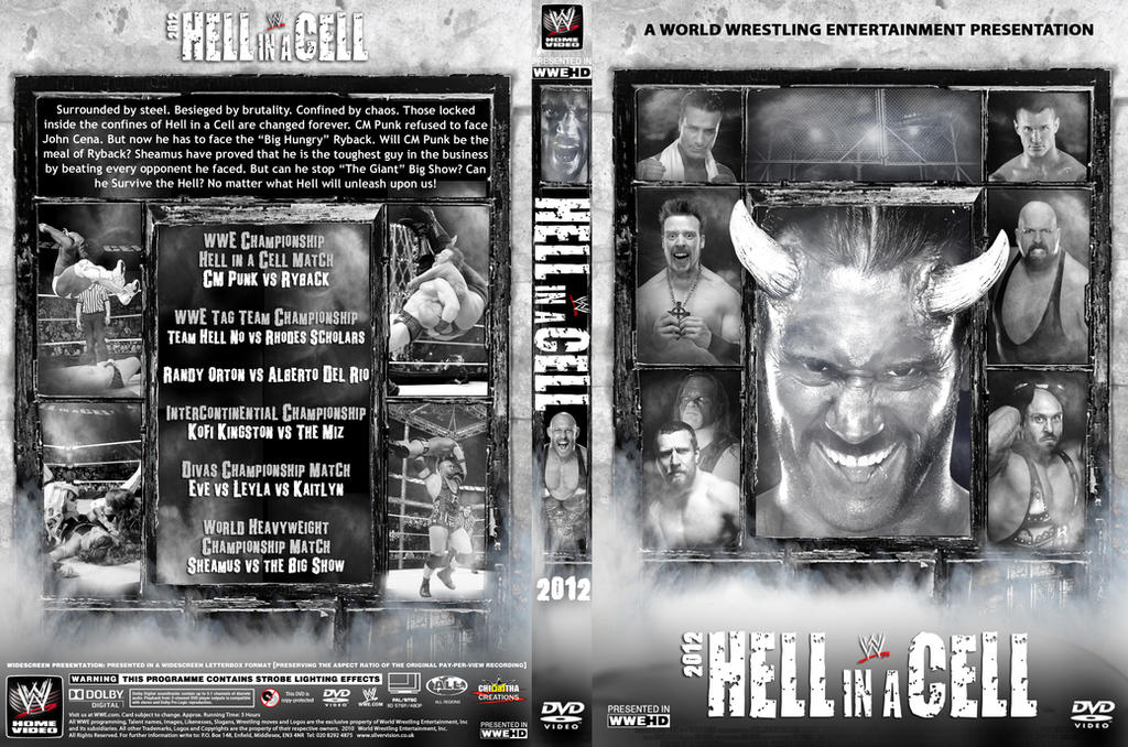 Image result for hell in a cell 2012 poster