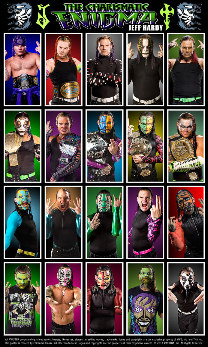 Jeff Hardy Poster by C...