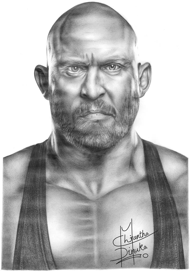 Uncategorized Wwe Drawing Pictures wwe ryback pencil drawing by chirantha on deviantart chirantha