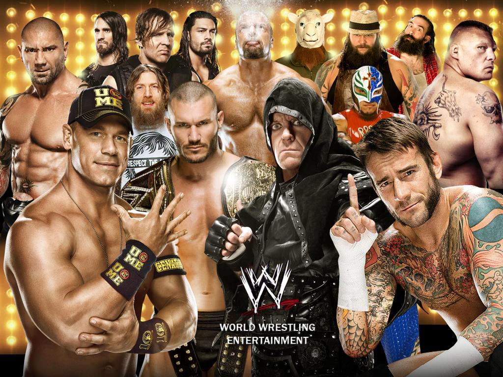 WWE Superstars Wallpaper by Chirantha on deviantARTAll Wwe Wrestlers 2013