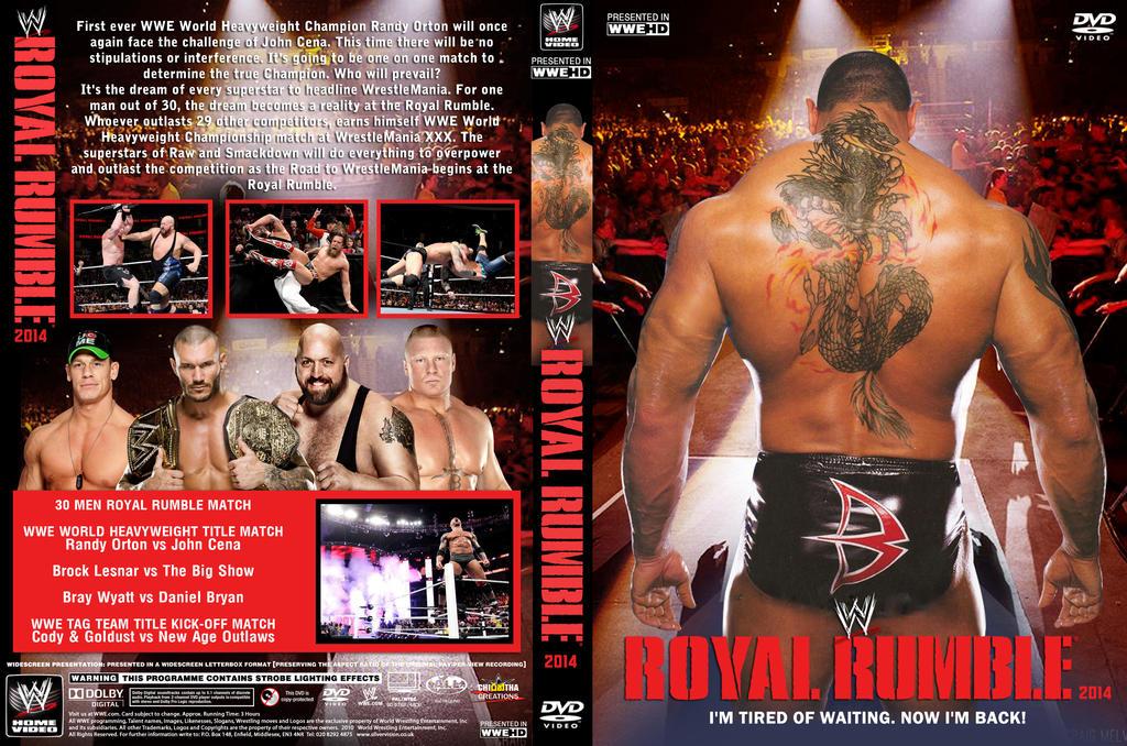 DVD WWE Royal Rumble 2014