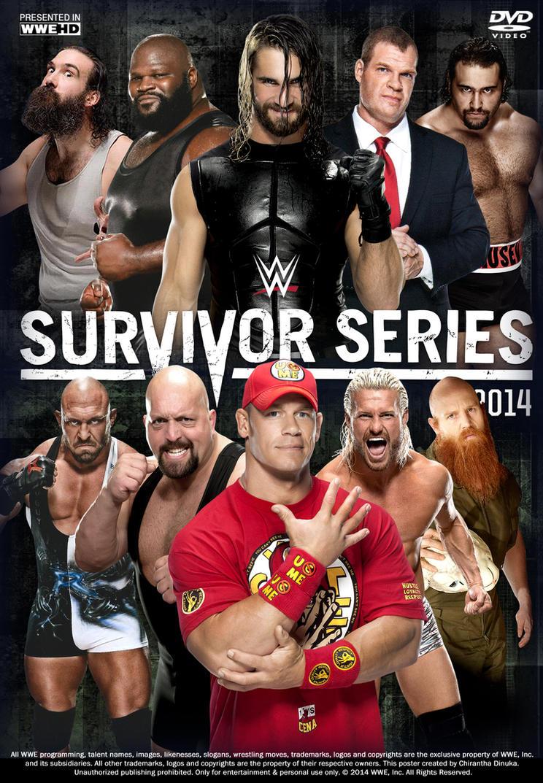 WWE Survivor Series 2014 Poster by Chirantha on deviantART