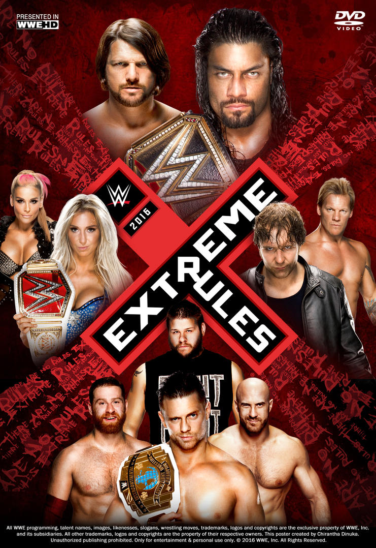 WWE Extreme Rules 2016 Full Show – Downloadsfreemovie.in