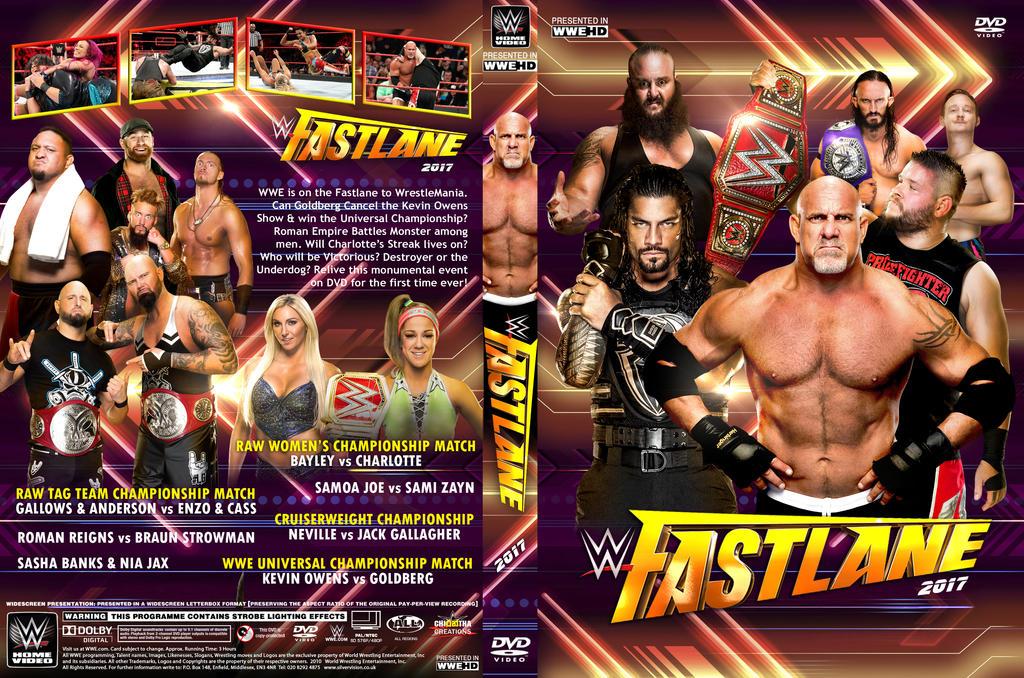 WWE Fastlane 2017 DVD Cover by Chirantha on DeviantArt