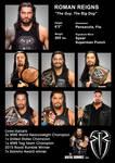 Roman Reigns WWE Profile Card