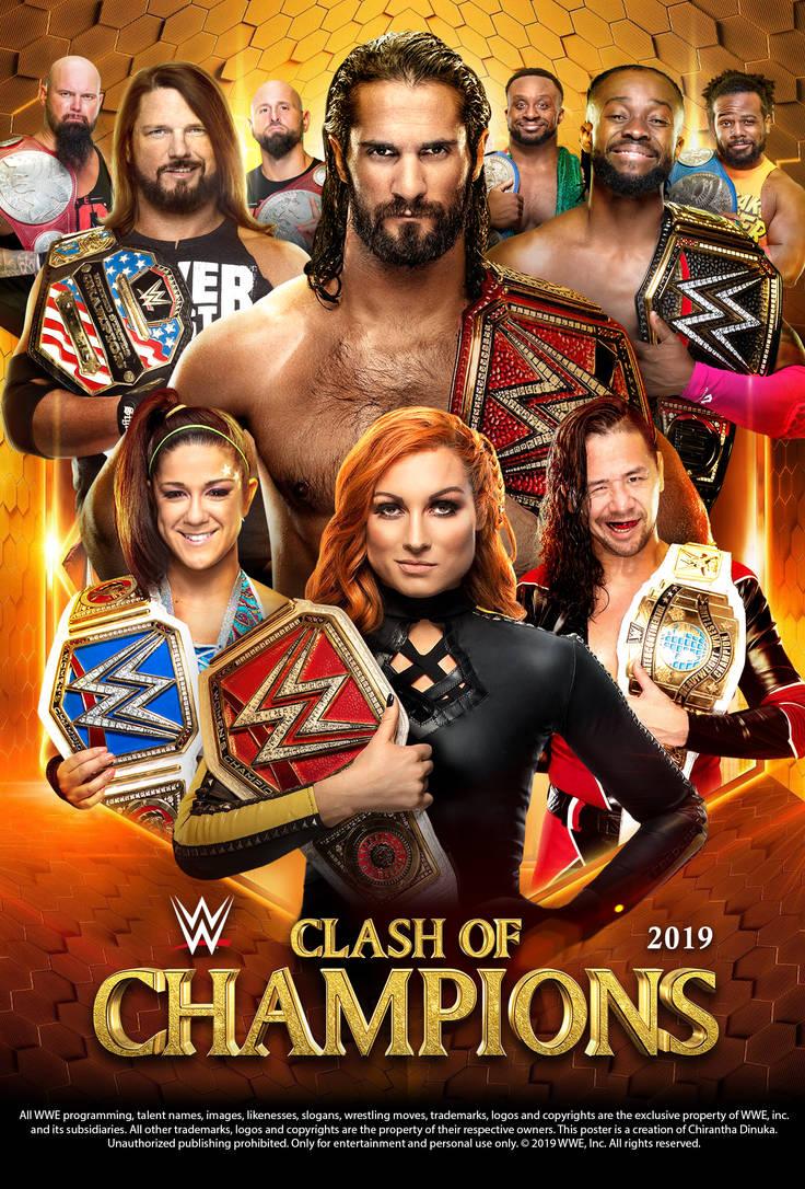 Resultado de imagen para clash of champions 2019