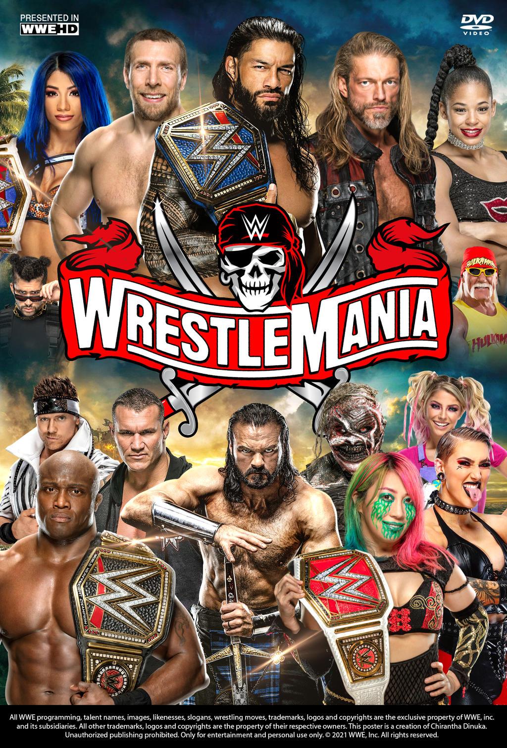 WWE WrestleMania 37 (2021) WEB-DL 1080p Descargar