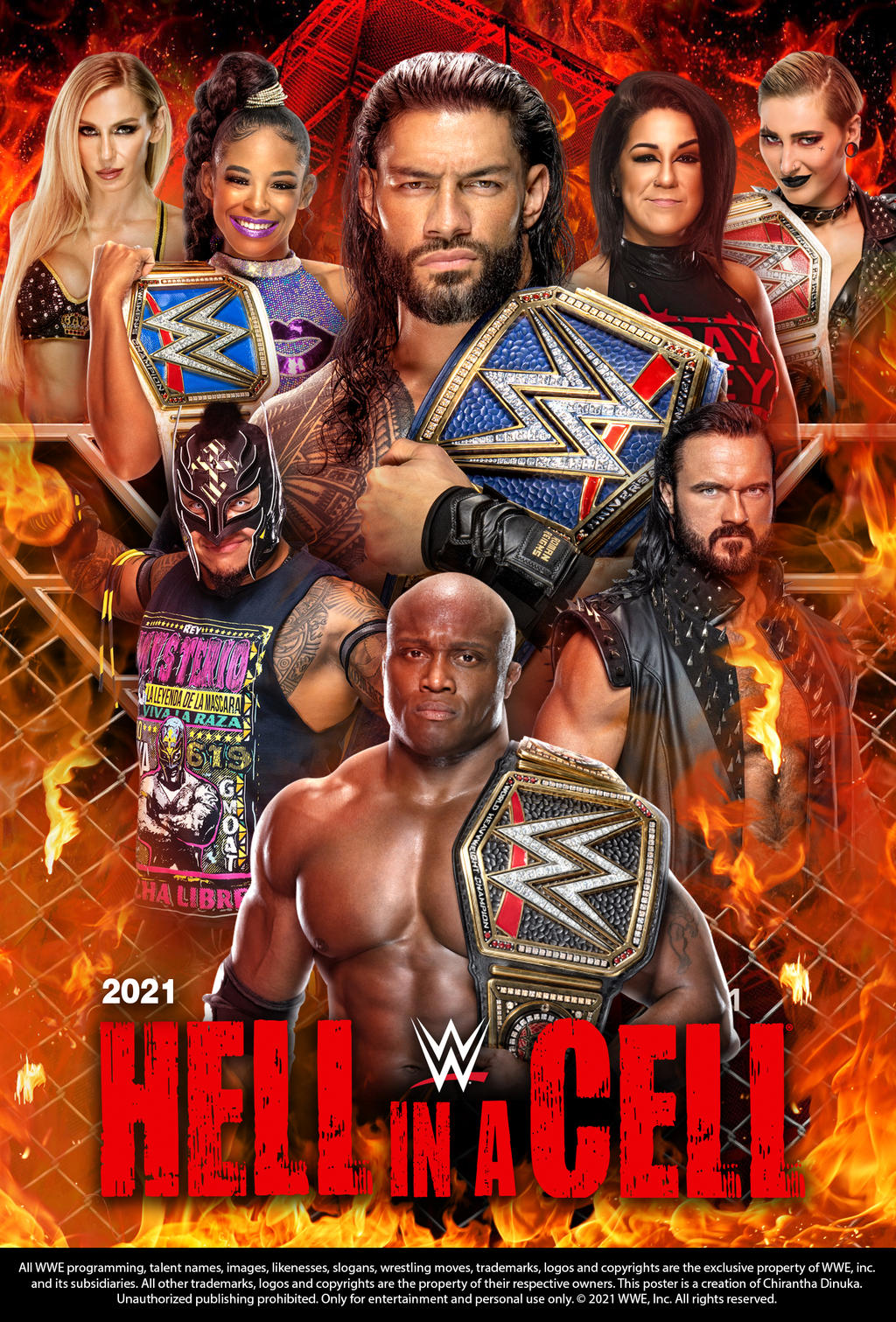 WWE Hell In A Cell 2021 PPV 1080 Latino Descargas