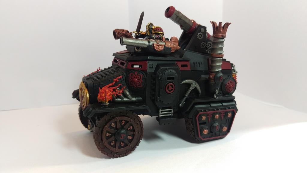 Duradin Steam Tank - conversion by worvach