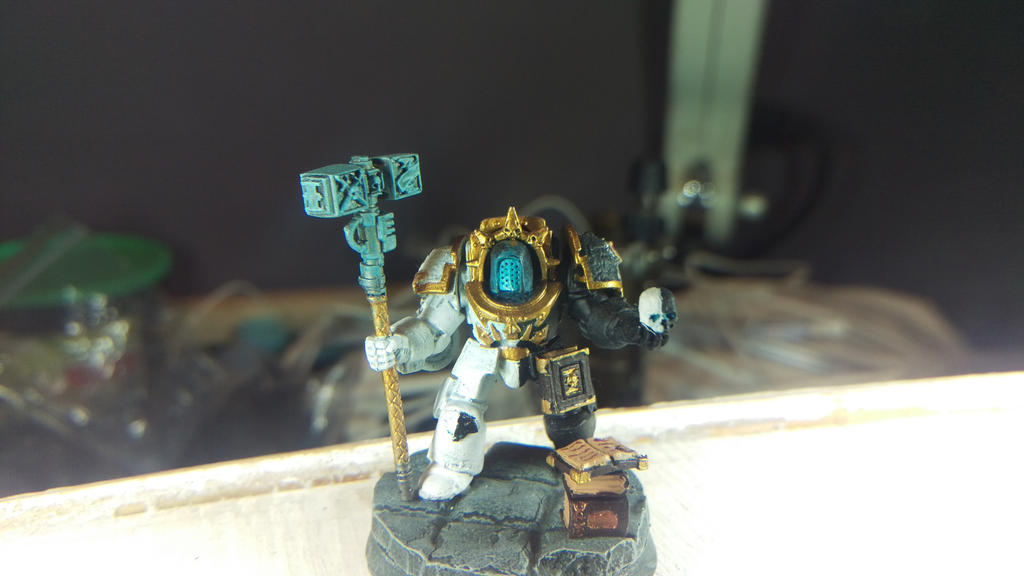 Grey Knight Librarian v3 - Malal by worvach