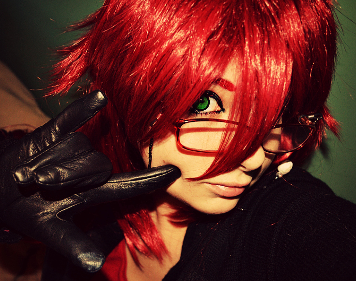 Cosplay Progress - Grell Sutcliff 2 by SammehChu