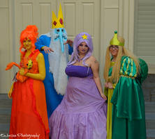Cosplay - Ice King's Princesses by SammehChu