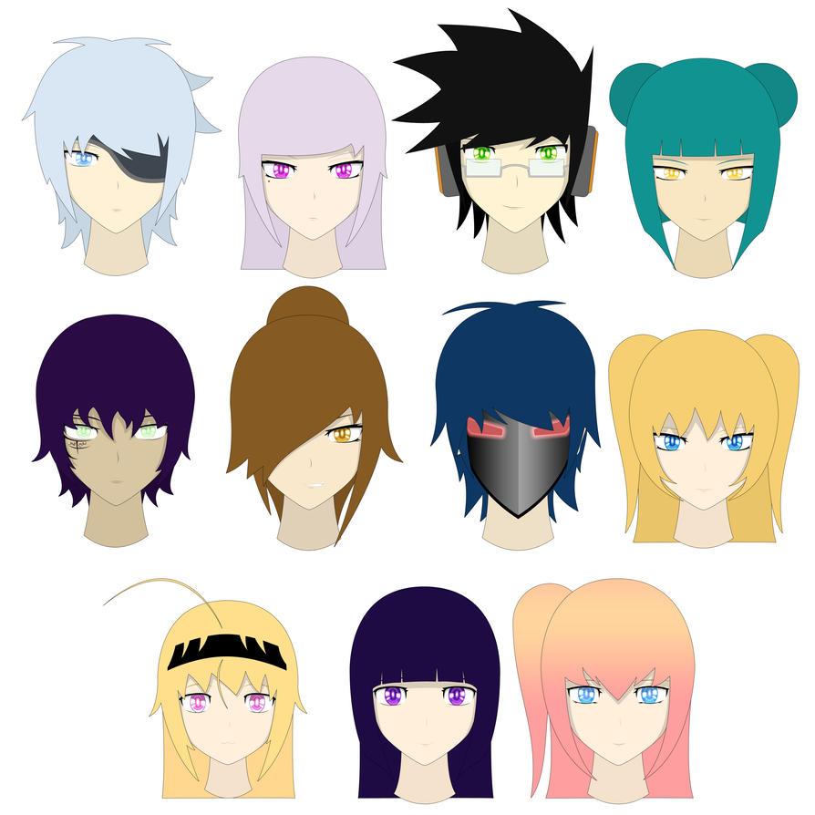 Amini101 Characters by amini101