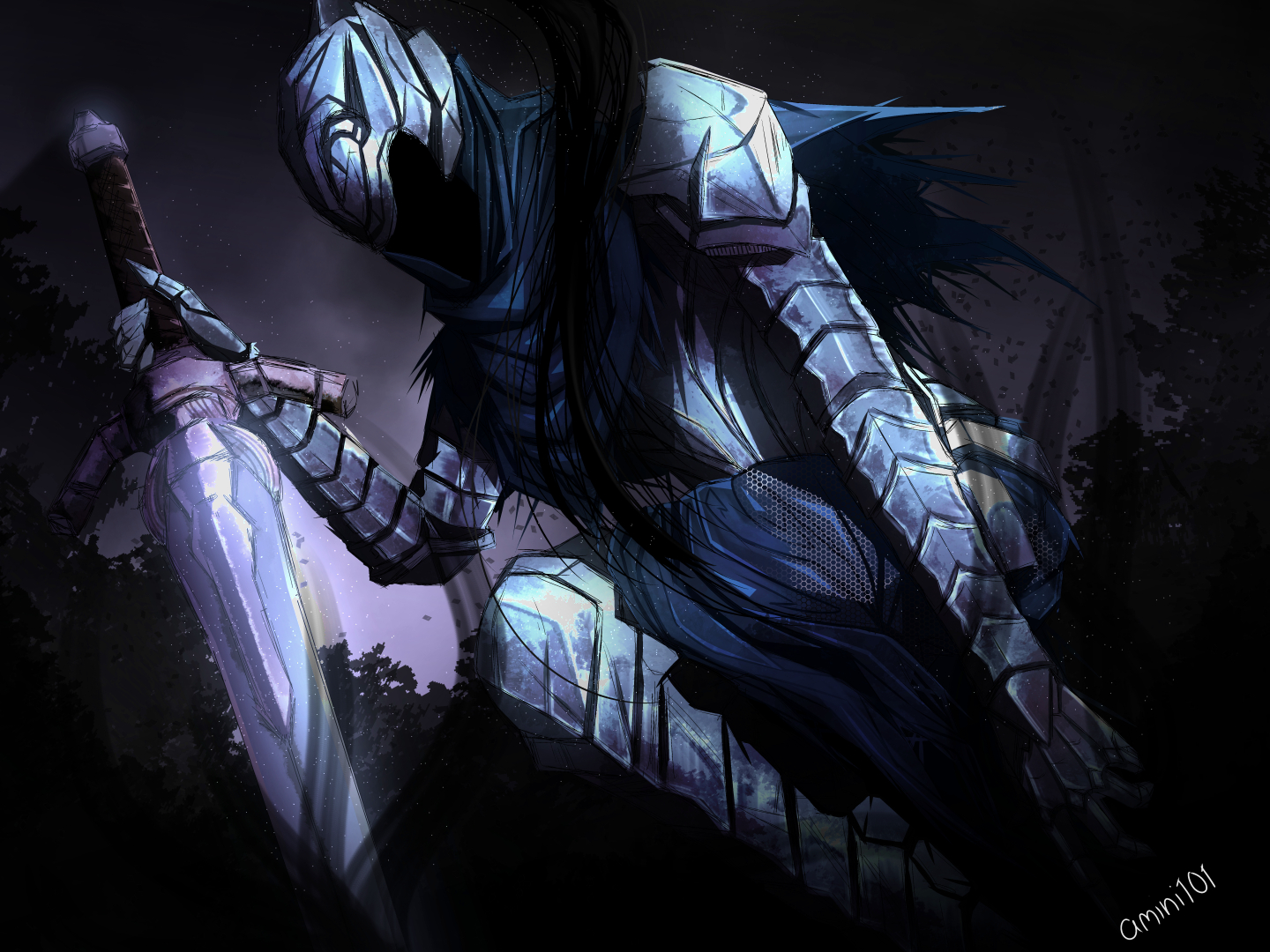 Artorias of the abyss by amini101