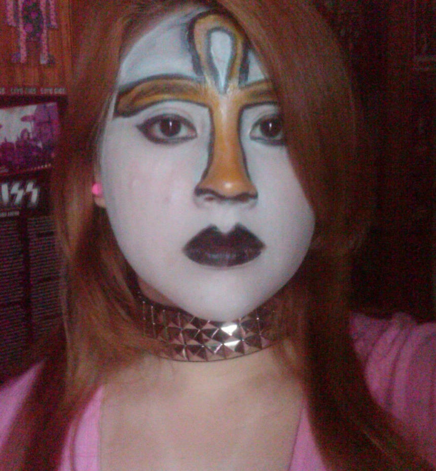Kiss Eric Carr Makeup: Vinnie Vincent Make Up By AdhyGriffin On DeviantArt