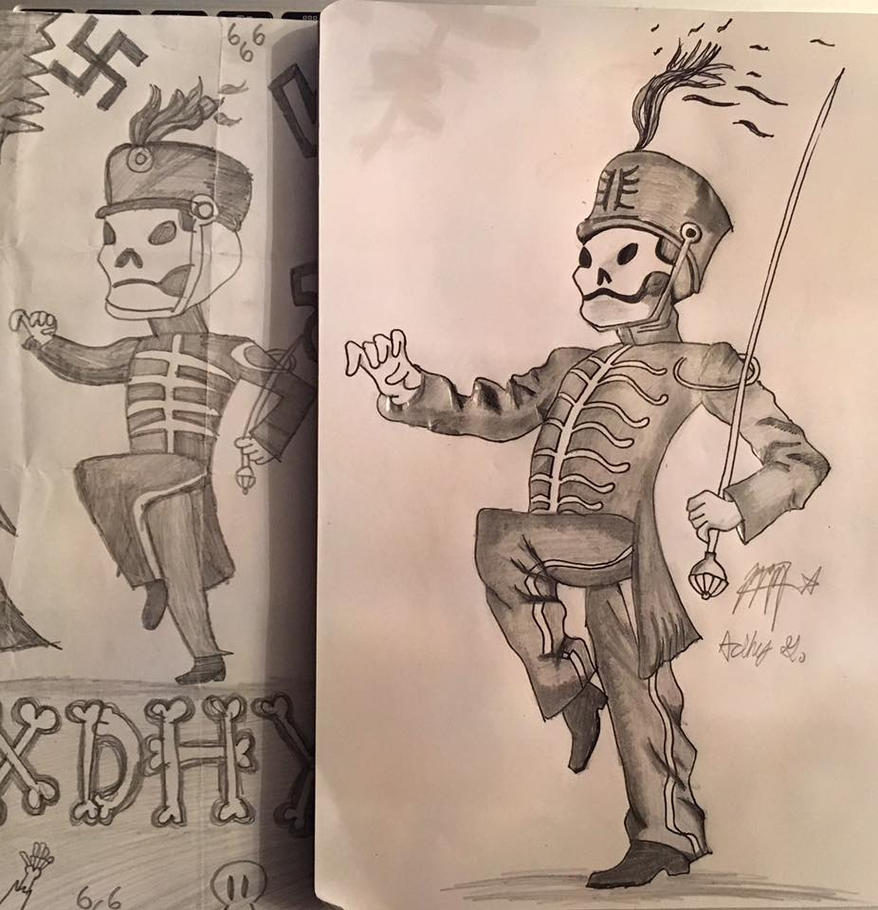Comparing Drawings by AdhyGriffin