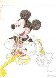 KING MICKEY BIZNATCH by KH-FANATIC444