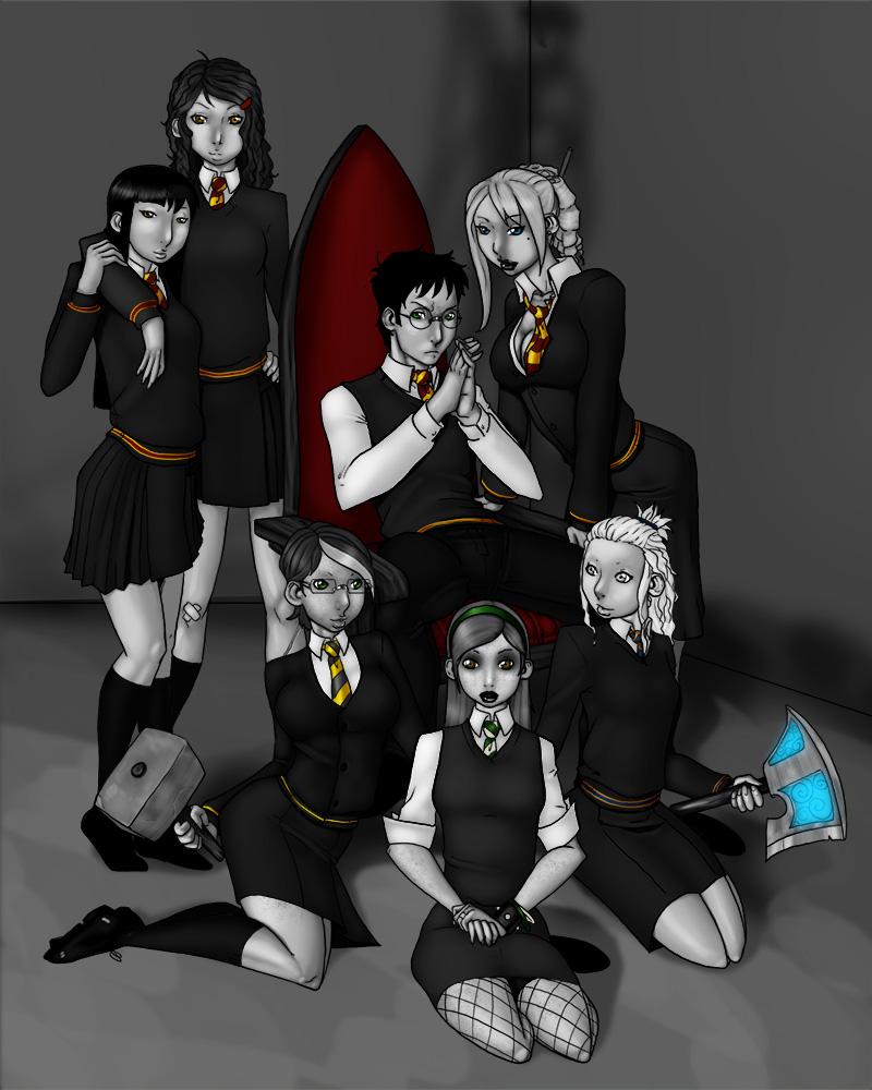 Harry Potter + the Wand of Uru by LexiKimble on DeviantArt