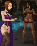 Dungeons and Dragons - Sheila and Diana by LexiKimble