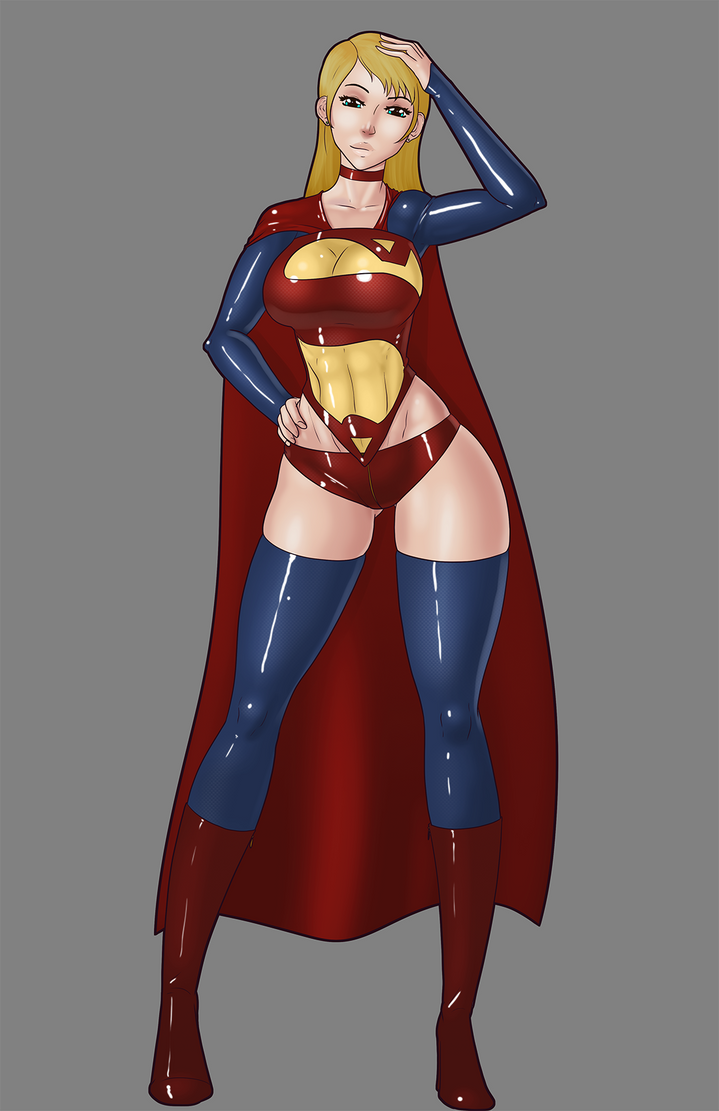 New Supergirl Costume by LexiKimble