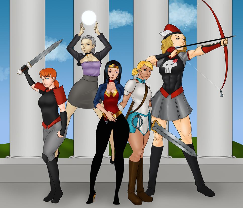 Ladies of Erfworld by LexiKimble