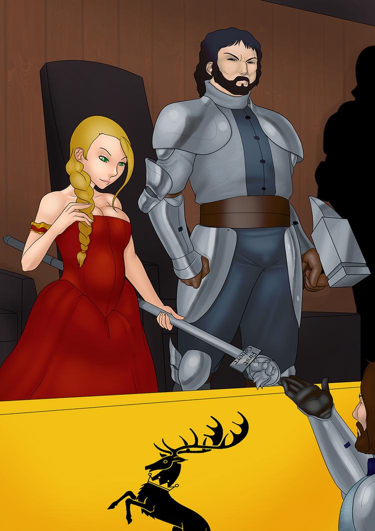 Robert and Cersei by LexiKimble on DeviantArt