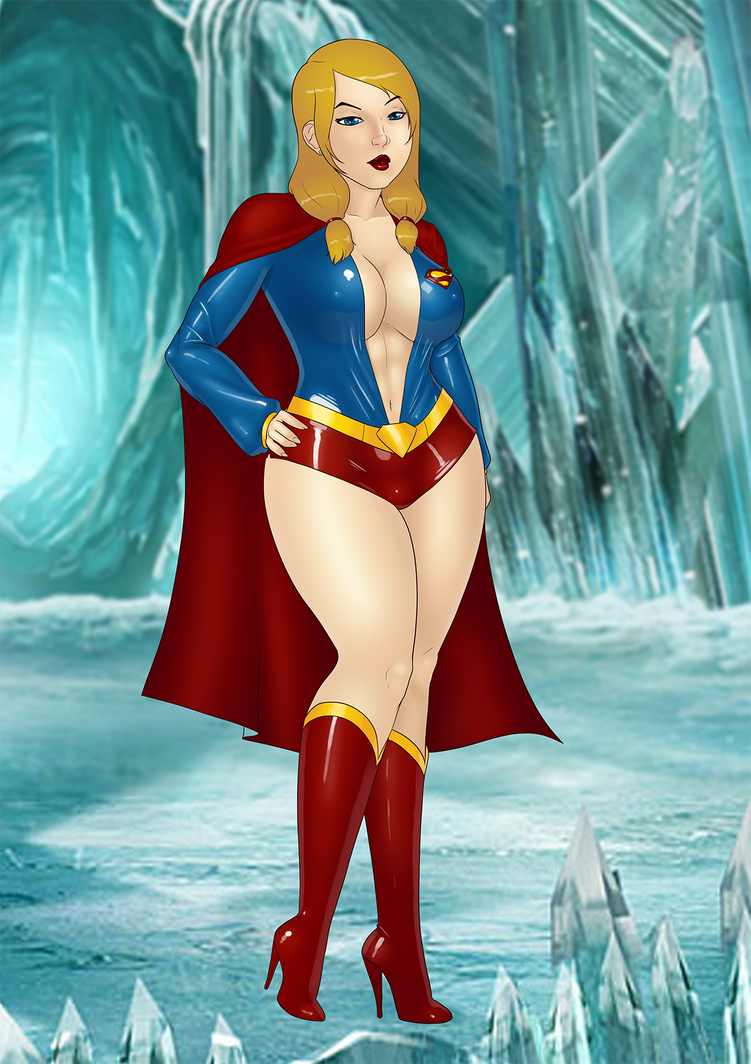 Sexy Supergirl by LexiKimble