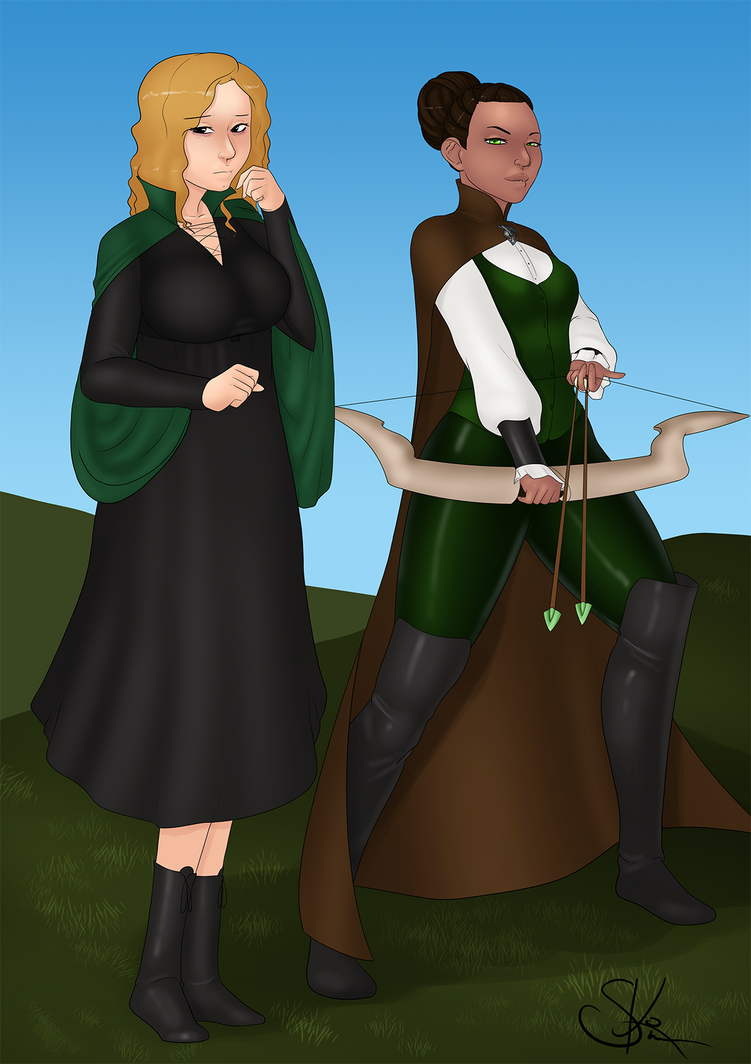 Misty and Jade by LexiKimble