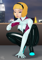 Spider-Gwen by LexiKimble