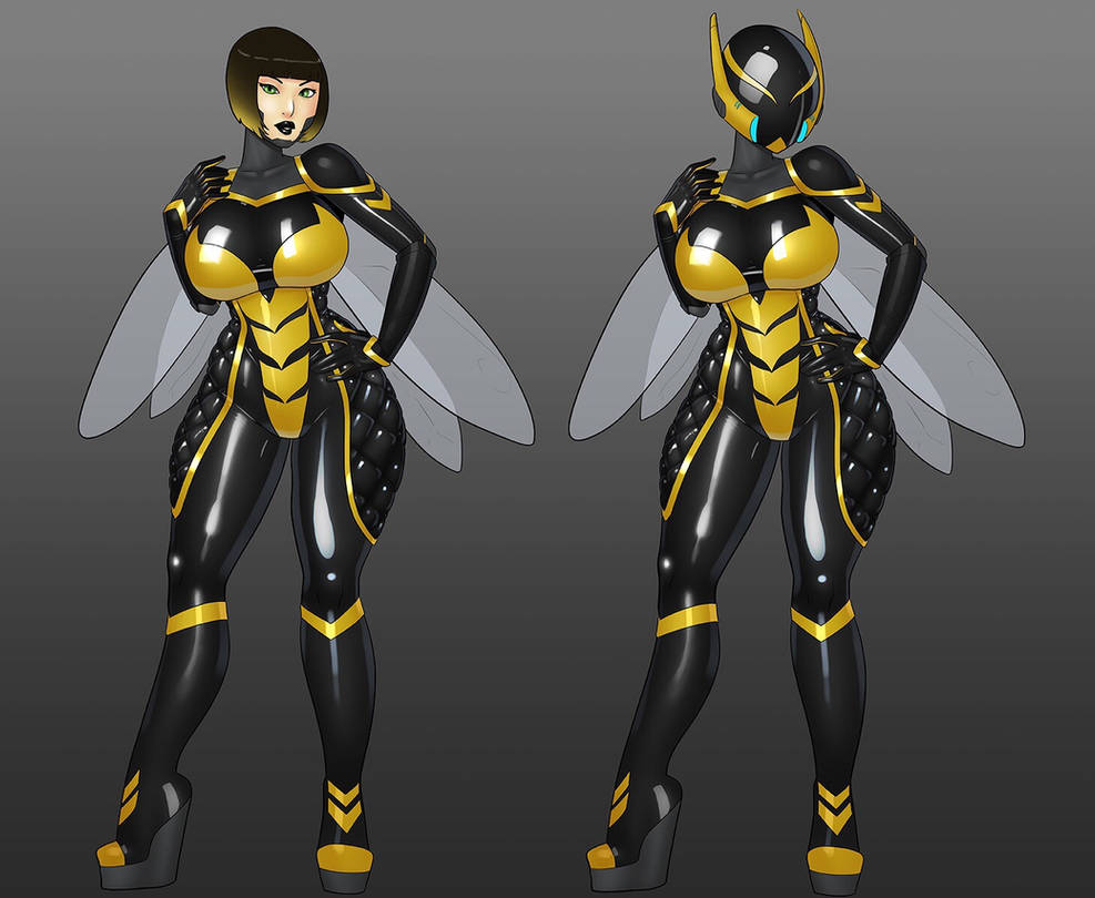 The Winsome Wasp by LexiKimble
