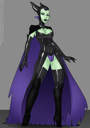 Patreon Comm - Maleficent by LexiKimble