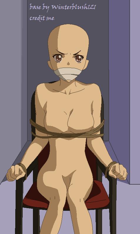 anime girl tied up