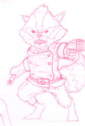 Guardians of The Galaxy Wip: Rocket Racoon 1