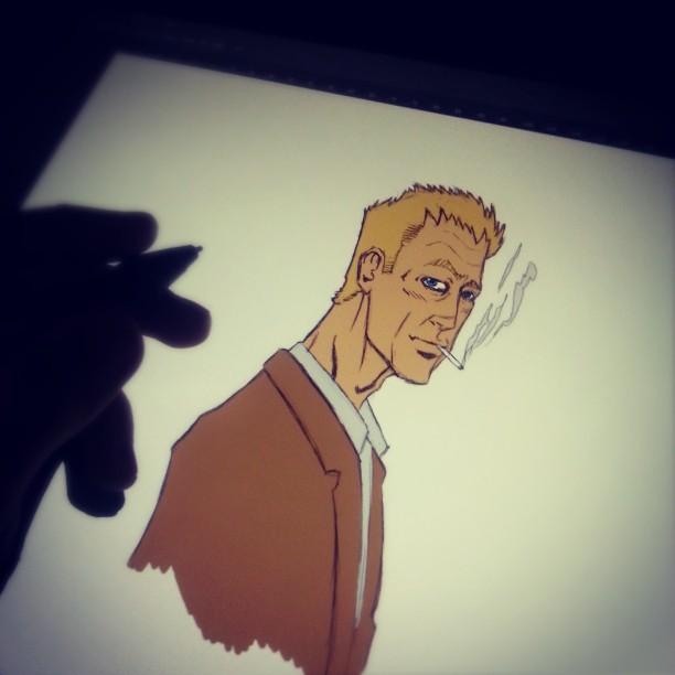 Constantine Sketch by Marvelzukas