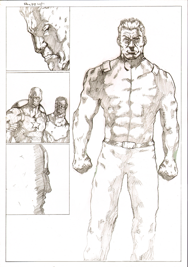 Talking page 2 of 2 pencils by Marvelzukas