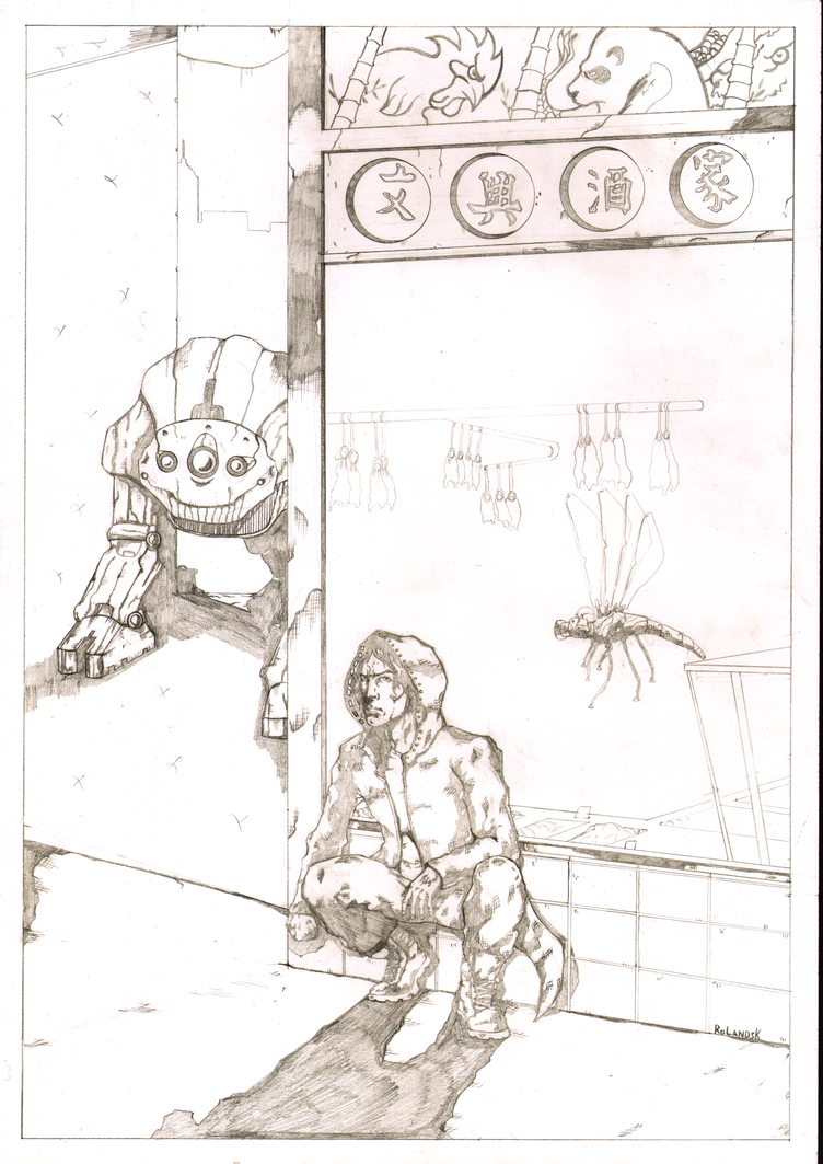 After The Dream Cover 2 pencils by Marvelzukas
